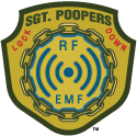 Sgt. Poopers EMF and RF Lock Down protects you from electrosmog