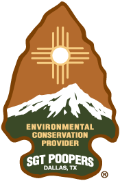 Sgt. Poopers® Conservation Arrowhead
